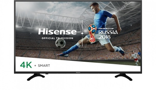 "Hisense Smart TV LED 50H8E 49.5"", 4K Ultra HD, Widescreen, Negro"