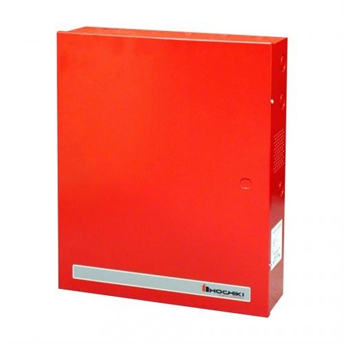 Hochiki Fuente de Poder para Alarma FN-642-UL-ADA-R, Entrada 12V, Salida 24V, Rojo