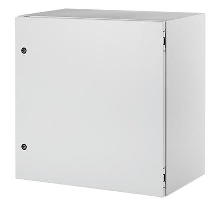 Hoffman Gabinete de Acero para Exteriores, 80 x 120cm, Blanco