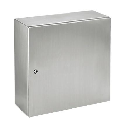 Hoffman Gabinete de Acero Inoxidable para Exteriores, 60 x 80cm, Plata