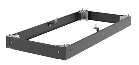 Hoffman Soporte para Rack, 120 x 50cm, Negro