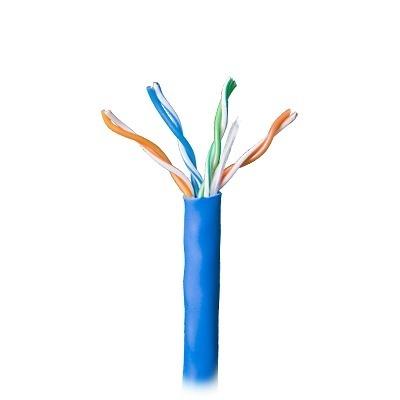 Honeywell Bobina de Cable Cat5e UTP, 250 Metros, Azul