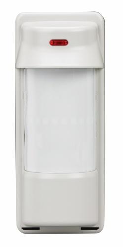 Honeywell Sensor de Movimiento PIR de Montaje en Pared 5800PIR-OD, Inalámbrico, Anti-Pet, hasta 12 Metros, Blanco