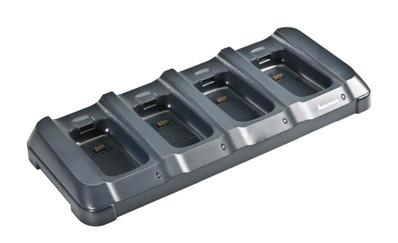 Intermec Cargador de 4 Baterías 871-230-101, Negro, para Intermec CK3