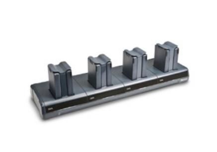 Honeywell Cargador para 4 Baterías DX4A2BBBB10, Negro, para CK70/71