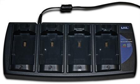 Honeywell Cargador de 4 Baterias MX7390CHARGER, Negro, para MX7