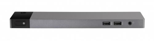 HP Docking Station 1DT93AA Thunderbolt 3, 4x USB 3.0, 1x DisplayPort, Negro/Plata