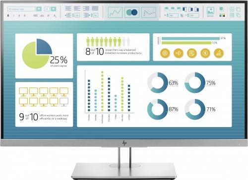Monitor HP EliteDisplay E273 LED 27'', Full HD, Widescreen, HDMI, Negro/Plata