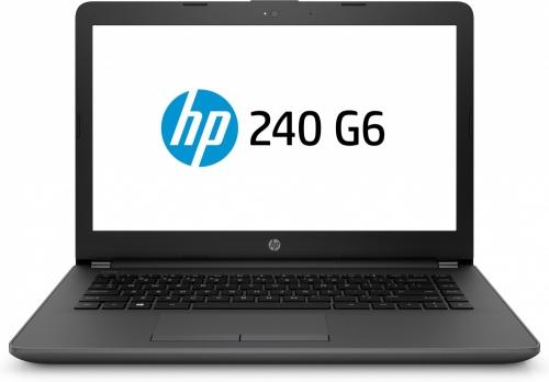 Laptop HP 240 G6 14'' HD, Intel Core i3 6006U 2GHz, 4GB, 500GB, Windows 10 Home, Negro