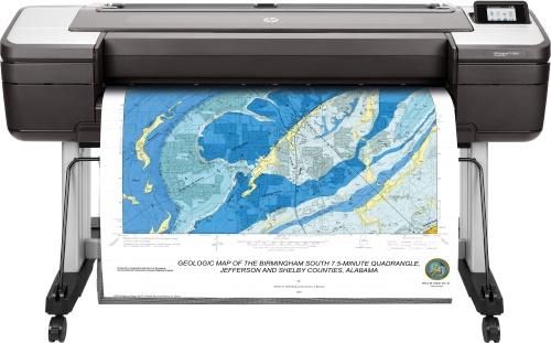 Plotter HP DesignJet T1700dr 44'', Color, Inyección, Print ― Requiere Care pack de Instalación H4518E por parte de la marca, consulta a servicio al cliente.