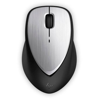 Mouse HP Láser Envy 500, RF Inalámbrico, 1600DPI, Negro/Plata