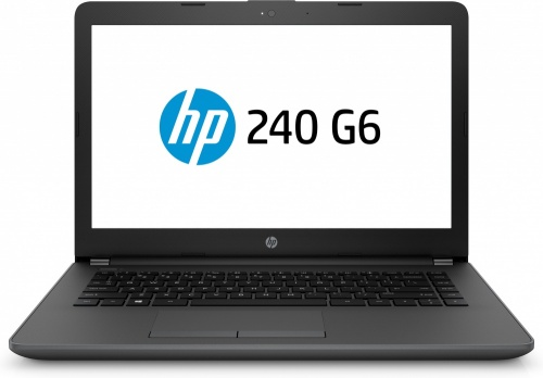 Laptop HP 240 G6 14'' HD, Intel Celeron N3060 1.60GHz, 4GB, 500GB, Windows 10 Home 64-bit, Negro