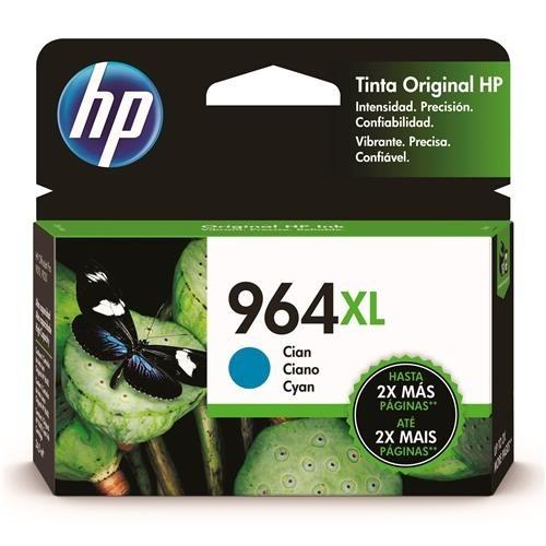 Cartucho HP 964XL Alto Rendimiento Cyan, 1600 Páginas