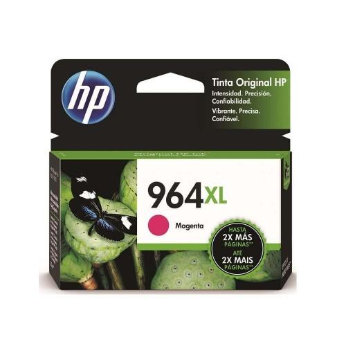 Cartucho HP 964XL Alto Rendimiento Magenta, 1600 Páginas