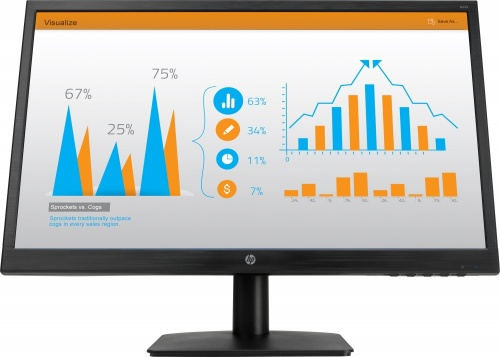 Monitor HP N223 LED 21.5'', Full HD, Widescreen, HDMI, Negro