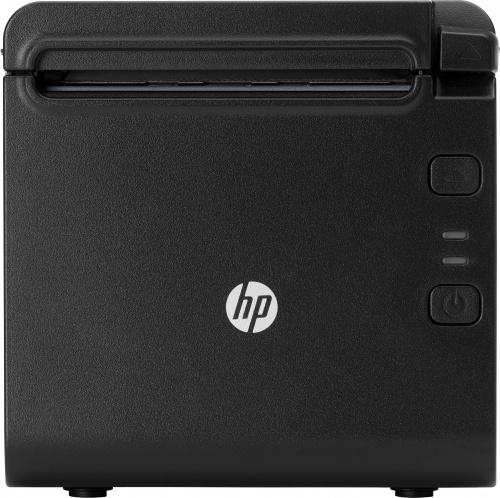 HP 4AK33AA Impresora de Tickets, Térmica Directa, 203 x 203DPI, Serial, Negro
