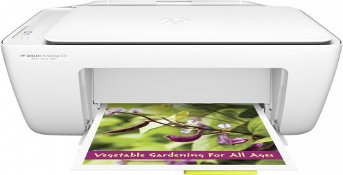 Multifuncional HP DeskJet Ink Advantage, Color, Inyección, Print/Scan/Copy