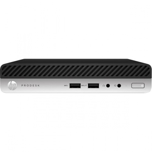 Computadora HP ProDesk 400 G4, Intel Core i3-8100T 3.10GHz, 8GB, 256GB SSD, Windows 10 Pro 64-bit