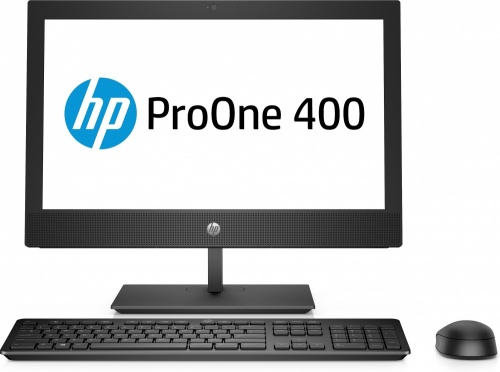 HP ProOne 400 G4 All-in-One 23'', Intel Core i3-8100T 3.10GHz, 4GB, 1TB, Windows 10 Pro 64-bit, Negro