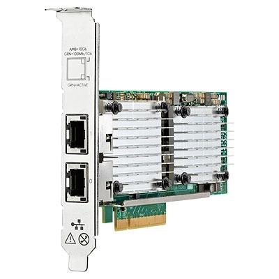 HP Tarjeta PCI Express Ethernet 10Gb 530T de 2 Puertos, Alámbrico