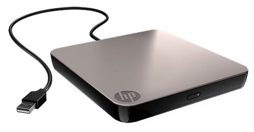HP 701498-B21 Unidad de DVD-RW, USB 2.0, Externo, Negro