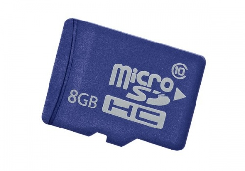 Memoria Flash HP, 8GB microSD Enterprise Mainstream Clase 10, Azul