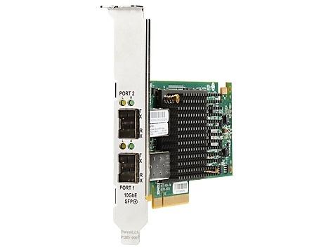 HP Tarjeta PCI Express Ethernet 10Gb 557SFP+ de 2 Puertos, Alámbrico