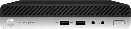 Computadora HP ProDesk 400 G5, Intel Core i3-9100T 3.10GHz, 4GB, 128GB SSD, FreeDOS ― Teclado en Inglés