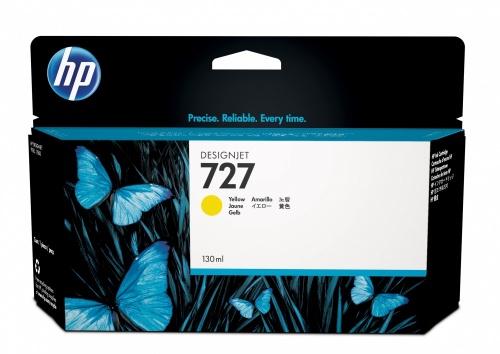 Cartucho HP 727 Amarillo 130ml