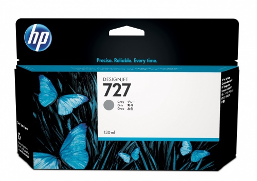 Cartucho HP 727 Gris 130ml