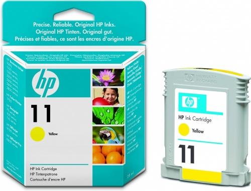 Cartucho HP 11 Amarillo, 2550 Páginas