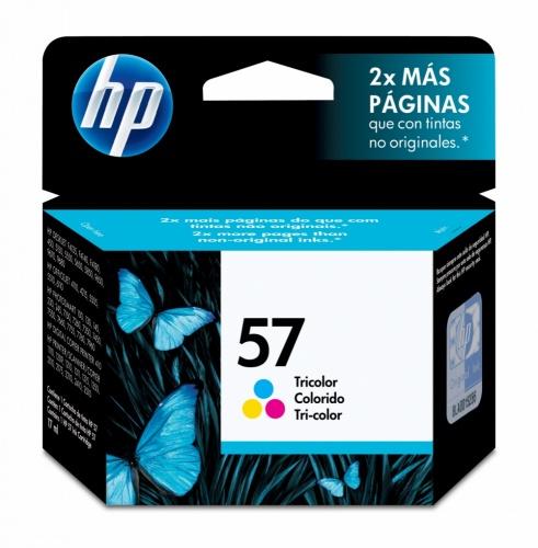 Cartucho HP 57 TriColor, 500 Páginas