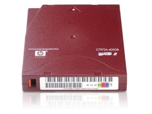 HP Soporte de Datos LTO2 Ultrium, 200/400GB, 609 Metros