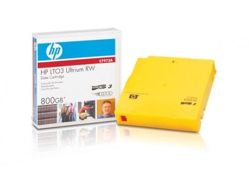 HPE Soporte de Datos LTO-3 Ultrium RW, 800GB, 680 Metros