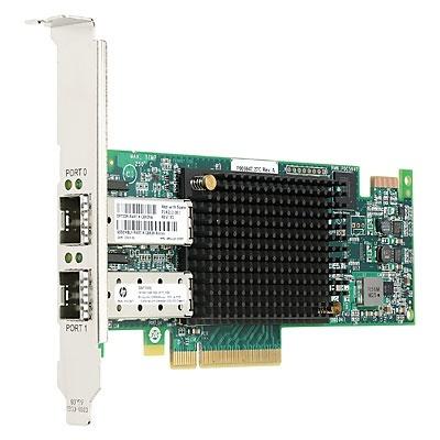 HP Adaptador de Bus de Host de Canal de Fibra PCIe, 16GB, 2 Puertos