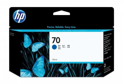 Cartucho HP 70 Azul 130ml