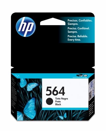 Cartucho HP 564 Negro, 250 Páginas ― ¡Compra y recibe 6% del valor de este producto en saldo para tu siguiente pedido!