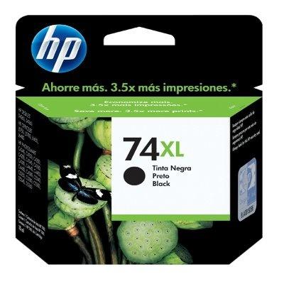 Cartucho HP 74XL Negro, 750 Páginas