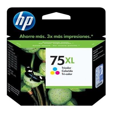 Cartucho HP 75XL Tricolor, 520 Páginas