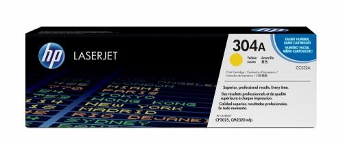 Tóner HP 304A Amarillo, 2800 Páginas