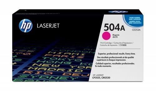 Tóner HP 504A Magenta, 7000 Páginas ― ¡Compra y recibe $215 pesos de saldo para tu siguiente pedido!