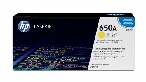 Tóner HP 650A Amarillo, 15.000 Páginas ― ¡Compra y recibe $405 pesos de saldo para tu siguiente pedido!