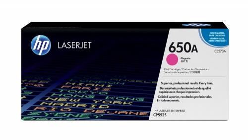 Tóner HP 650A Magenta, 15.000 Páginas ― ¡Compra y recibe $335 pesos de saldo para tu siguiente pedido!