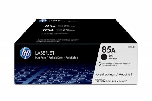 Toner HP 85A Paquete Doble Negro, 2 x 1600 Páginas