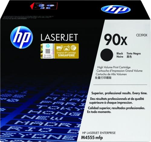 Tóner HP 90X Negro, 24.000 Páginas ― ¡Compra y recibe $290 pesos de saldo para tu siguiente pedido!