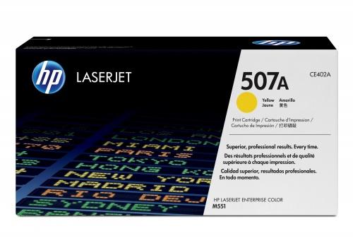 Tóner HP 507A Amarillo, 6000 Páginas ― ¡Compra y recibe $210 pesos de saldo para tu siguiente pedido!