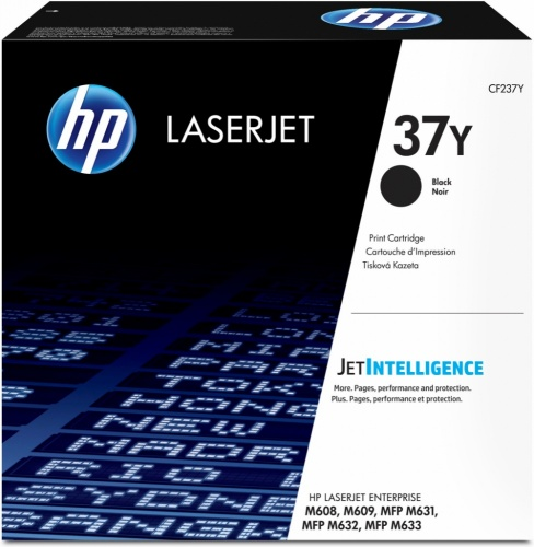 Tóner HP 37Y Negro, 41.000 Páginas, para LaserJet Enterprise M608/M609