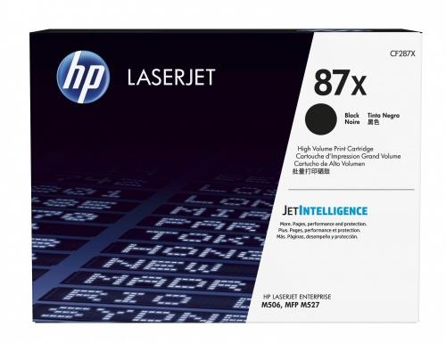 Tóner HP 87X Negro, 18.000 Páginas ― ¡Compra y recibe $295 pesos de saldo para tu siguiente pedido!