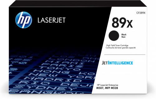 Tóner HP 89X Alto Rendimiento Negro, 10.000 Páginas