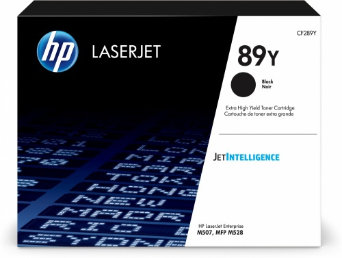 Tóner HP 89Y Extra Alto Rendimiento Negro, 20.000 Páginas